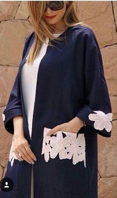 Street Hijab Fashion, Abaya Fashion, Muslim Fashion, Modest Fashion, Fashion Dresses, Mode Abaya, Mode Hijab, Mode Kimono, Iranian Women Fashion