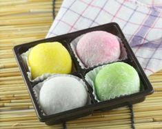 Desserts Japonais, Sweet Recipes, Sushi, Muffins, Japan Recipe, Cooking, Simple, Ethnic Recipes, Reproduction
