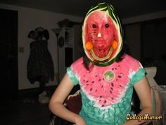 Watermelons are like the Jack-O-Lanterns of the summer.