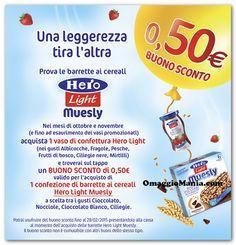 Buono sconto Hero Light Muesly - http://www.omaggiomania.com/buoni-sconto-sui-prodotti/sconto-hero-light-muesly/