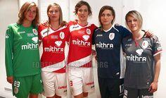 Standard Liège 2013/14 Joma Home, Away and Third Kits