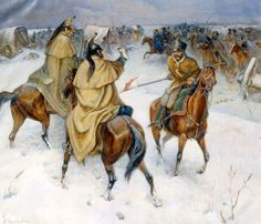 Fighting that occurred during the great retreat (invasion of Russia 1812).