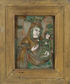 Jesus Christ Images, Byzantine Icons, Mother And Child, Folk Art, Marvel, Glass, Painting, Inspiration, Mother Son