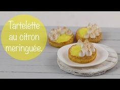 Tartelette Au Citron Meringuée (pâte polymère) - YouTube