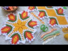 YUVARLAK LALE LİF (Tasarım Süreyya Ertem #lifmodelleri #sibelleorgu #Tasarımlif - YouTube Crochet Designs, Crochet Patterns, Loom Blanket, Crochet Projects, Projects To Try, Diy, Create, Farmhouse Rugs, Craft