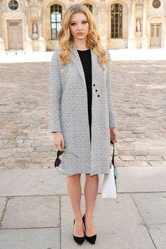 Natalie Dormer in Christian Dior