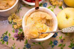 Яблочный пудинг