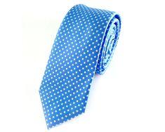 Sky Blue with White Polka Dots Skinny Ties Tie Accessories, Wedding Ties, Skinny Ties, Etsy Handmade, Red And Blue, Ties Online, Polka Dots, Neckties