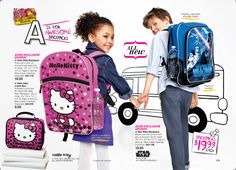 Get them back packs they'll actually like this year!  Hello Kitty and Star Wars from AVON - Only $20!  Shop now @ GetMyAvon.net