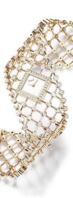 Piaget Timepiece. http://www.thesterlingsilver.com/product/michael-kors-womens-gold-tone-steel-bracelet-case-quartz-pink-dial-analog-watch-mk3444/