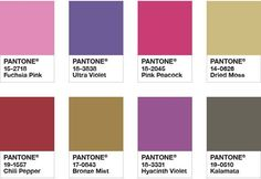 Pantone Color of the Year 2018 - Color Palette Drama Queen Color Trends 2018, 2018 Color, Colour Pallete, Color Combos, Color Palettes, Paleta Pantone, Brown Color Schemes, Decoration Ikea, Color Harmony