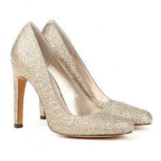 """Sole Society """"Brooklyn"""", $49.95 sparkle heels  get $25 off your first purchase with the code INFLUENSTER25 until 1/31/13  @Influenster @Sole Society   Can't wait to wear these out!"""