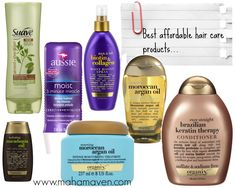 Best Affordable Hair Care Products #HealthyHair #EcoGenics #HairCare