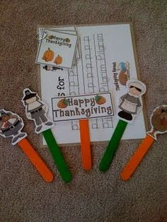 Thanksgiving Printables... Cute