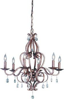 Chandelier we chose: Feiss Exclusive Lighting Store | 6 Light Chandelier