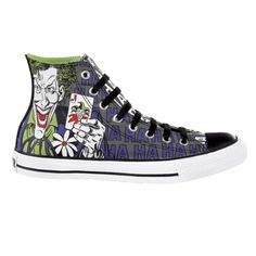 e4e3bd3b42ad ·new Converse The Joker Batman All Star Hi Chuck Taylor DC Comics Shoes  Trainers
