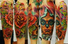 Freehand tattoo