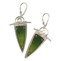 Green SVS Earrings