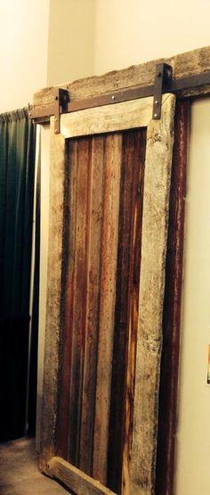 how to make a barnwood door