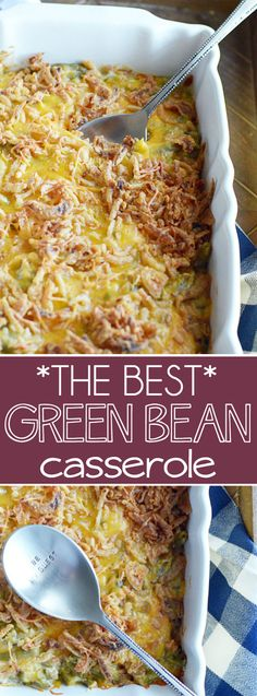 This recipe is a long time family favorite. I can't imagine a holiday without Green Bean Casserole. Completely from scratch, no canned cream...
