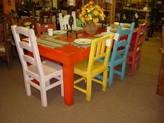 Southwest Mexican dining tables
