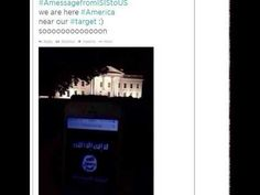 We Are Here America, Near Our Target- Soon! ISIS Flash Flag Of Jihad At The White House