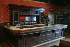 Antique-Saloon-Restaurant-Bar-w-Marble-top