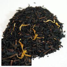 Creme Brulee tea.