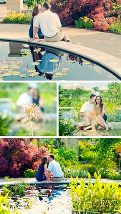 Engagement session at the Arboretum at Penn State, State College.
