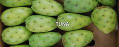 Tuna - http://medicinadedios.info/tuna/ - Tuna   Nombre científico:Opuntia ficus-indica.  Nombres populares:chumbera, tuna,nopal.  Descripción:Planta arbustiva de la familia de las cactáceas. Como la mayoría de los miembros de este género carece de hojas nomofilas, los segmentos o cladodios en que se divide, son tallos capaces de ramificarse, emitiendo flores y frutos. Estos tallos son planos, ovales y de color verde medio. Poseen dos clase