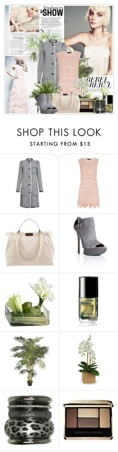"""""""Jessica Stam (26/02/2012)"""" by misssophie ❤ liked on Polyvore featuring Lanvin, Dorothy Perkins, Fendi, Camilla Skovgaard, Emma Watson, Calla, Chanel, PLANT, Wet Seal and Guerlain"""