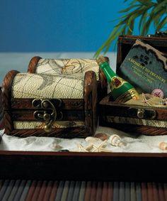 Mini Treasure Chest Beach Wedding Favors(pkgs of 6)