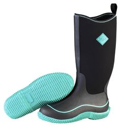 Muck Boots Women's Hale Multi Season Boot - Black/Jade - HeadWest Outfitters