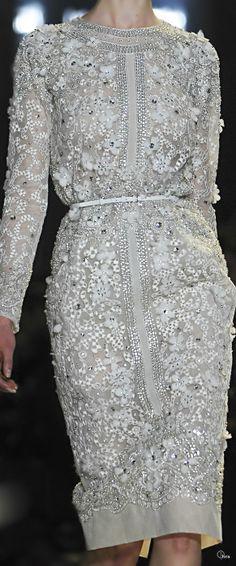 Rosamaria G Frangini | ColorDesire Silver | Elie Saab/ Haute Couture