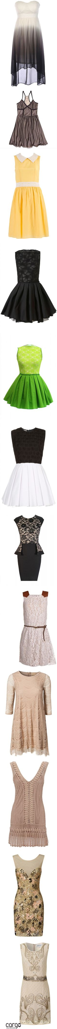 """Dresses XX"" by je-suis-un-lapin ❤ liked on Polyvore"
