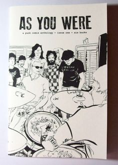 As You Were #1: A Punk Comix Anthology About House Shows | Microcosm Publishing