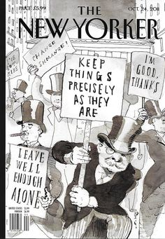 The New Yorker magazine October 24 2011 Fighting Back