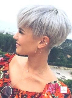 24 Cutest Short Blonde Pixie Haircut Styles for 2019 monique Short Blonde Pixie, Short Grey Hair, Short Hair Cuts, Short Hair Styles, Pixie Haircut Styles, Short Pixie Haircuts, Box Braids Hairstyles, Pixie Hairstyles, Shaved Pixie Cut