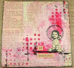 a sprinkle of imagination: So Beautiful #artjournal