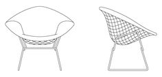 diamond chair - Google Search