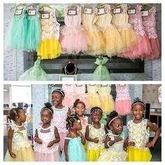 One of the sweetest parties we worked on with @prettyposhdesign just look at those adorable little faces!!! #party #partyplanner  #customdesigns #customprinting #customstationery #tutus #prettyposhdesigns #aidamalikphotography #bushelandpeckpaper