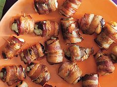 Devils on Horseback   Learn how to make Devils on Horseback. MyRecipes has 70,000  tested recipes and videos to help you be a better cook