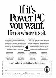 PowerPC ad 1993