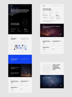 Collection of UI design projects I did in 2017 and 10 - Branding by Uniforma StudioI am Gabz - Portrait by Kuba SzopkaShort Waves Festival - Branding by Uniforma StudioUnit 8 - Branding by Studio Otwarte Web Design Mobile, Web Ui Design, Page Design, Graphic Design, Flat Design, Design Design, Website Layout, Web Layout, Layout Design