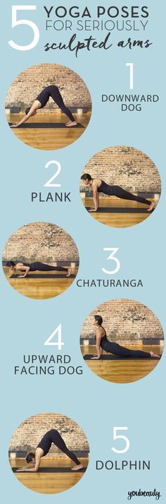 You don't have to spend hours pumping iron to get those lean, sculpted arms we all dream about. Try these easy yoga poses for stronger arms and shoulders.…