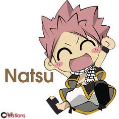 Chibi Natsu of Fairytail Natsu Fairy Tail, Fairy Tail Ships, Art Fairy Tail, Anime Fairy Tail, Fairy Tail Guild, Fairy Tales, Fairytail, Gruvia, Zeref