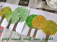 wattestäbchen-bäume