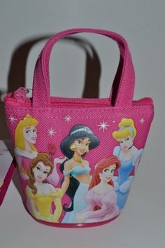 Disney Princessess Mini Coin Purse Black by Disney. $0.99. Official Licensed by Disney. Purse comes with the Disney Official tag and Hologram logo.