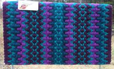 Custom Aubergine & Teal Show Pad – The Bling Boutique