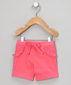 Take a look at this Salmon Garden Organic Shorts - Infant & Toddler by Sage Creek Organics on #zulily today!